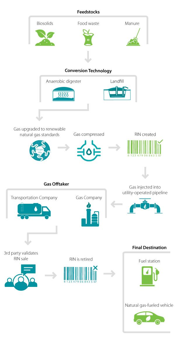 RINs: Renewable Gas as a Revenue Source - CDM Smith