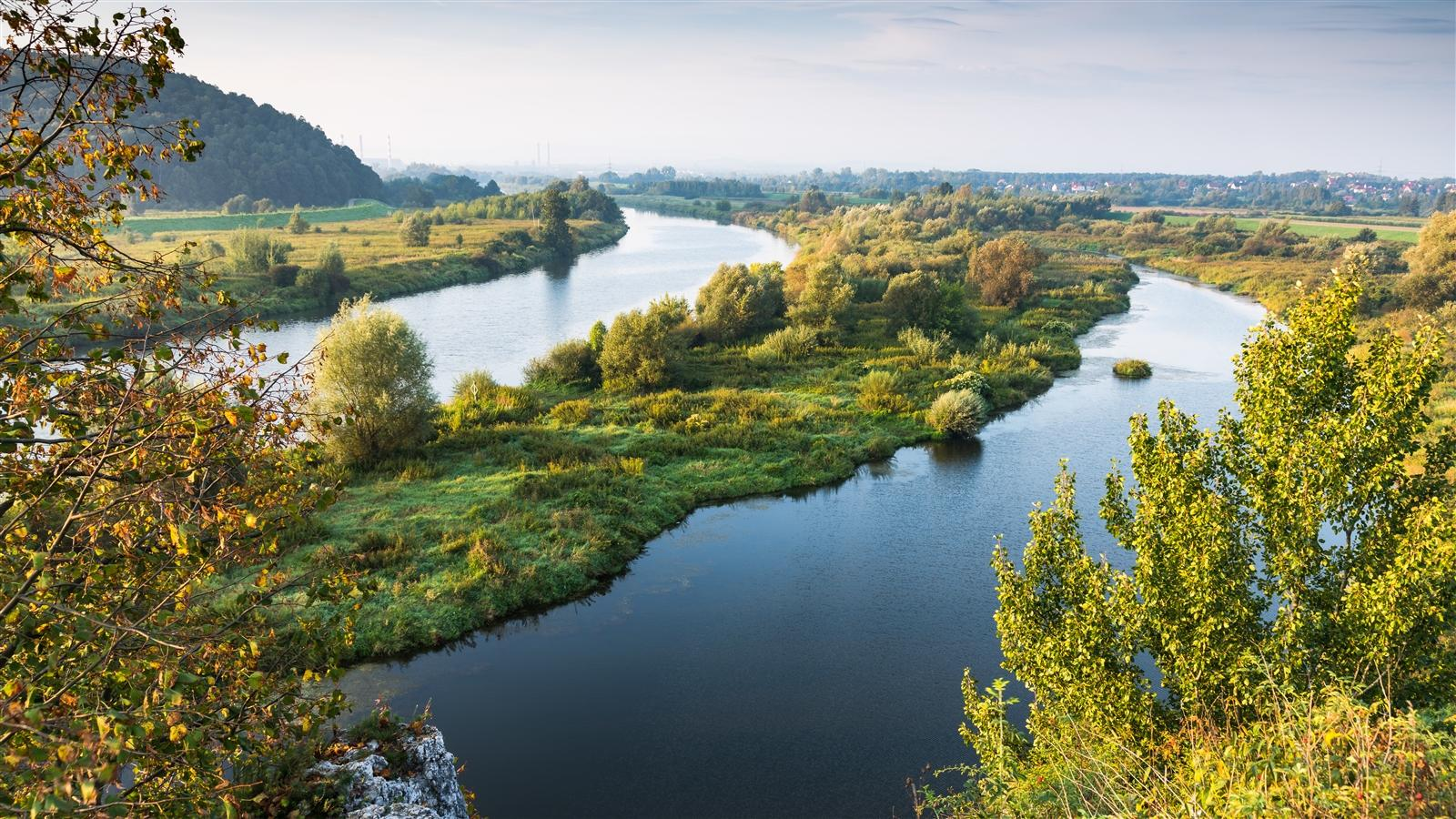 Vistula River Poland