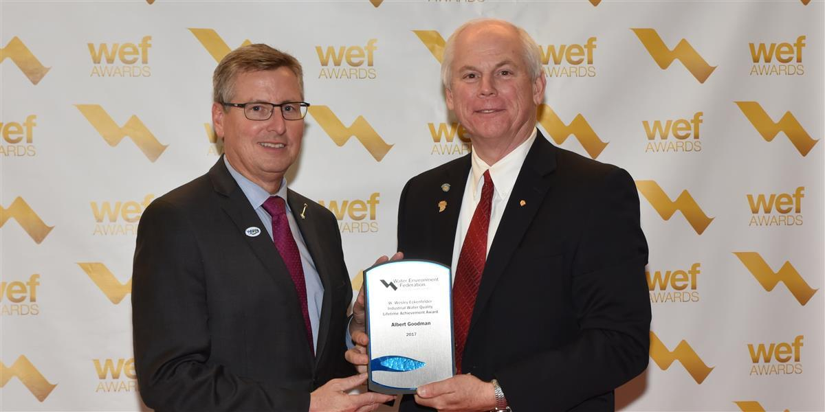Al Goodman Receives Industrial Water Quality Lifetime