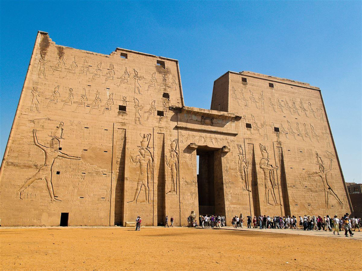 Temple Edfu Egypt