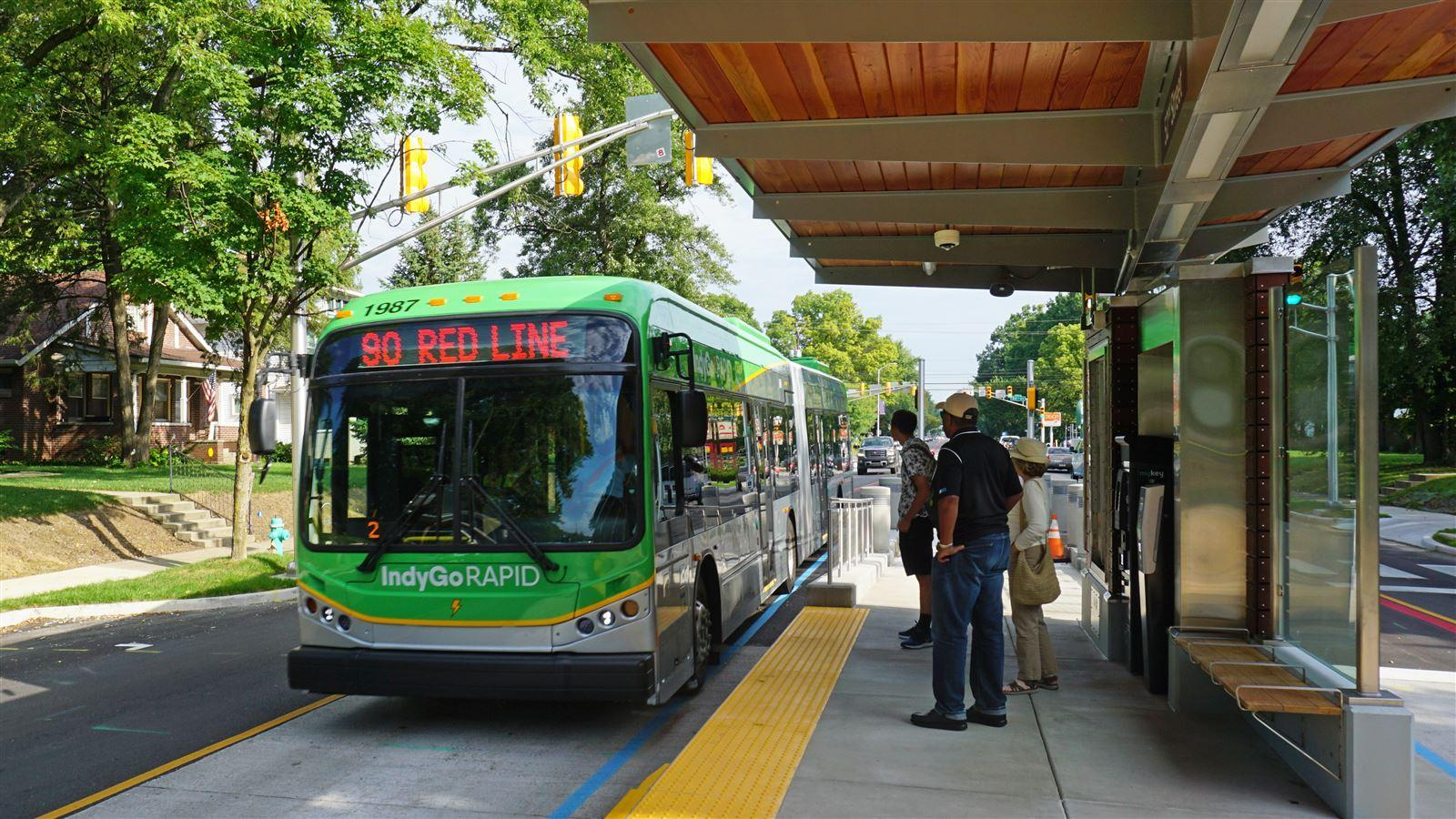 Bus Rapid Transit Gains Traction in Indianapolis - CDM Smith