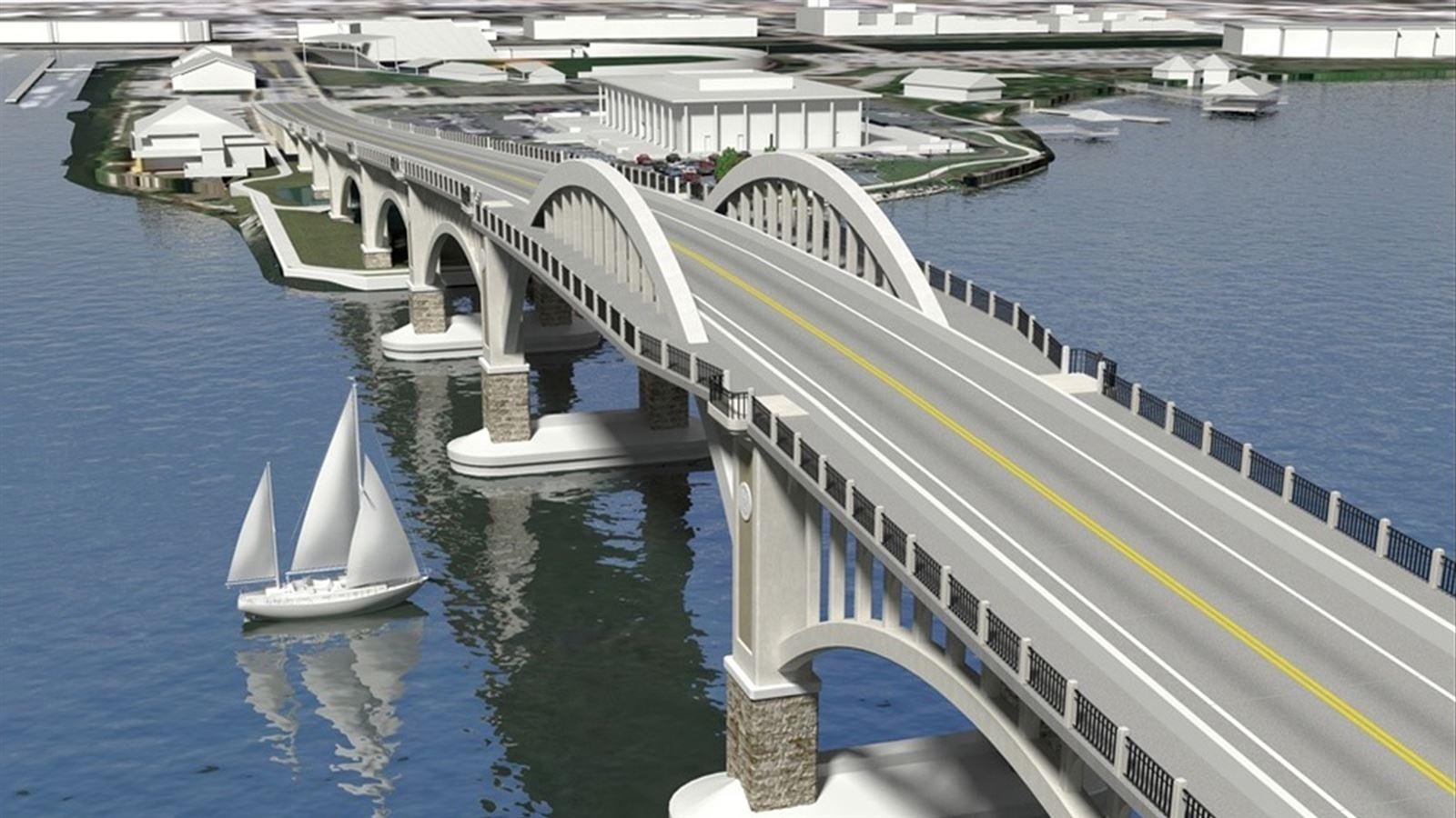 Volusia Bridge Rendering